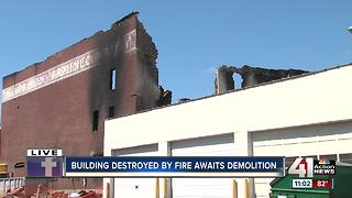 Owner looks to demolition after massive furniture store fire destroys buidling - Video