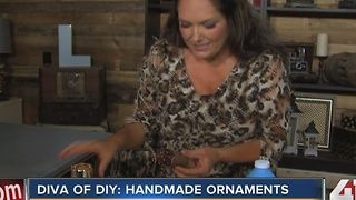 Diva of DIY: Decorating handmade ornaments - Video