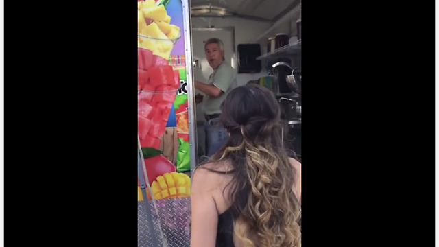Daughter All Glammed Up For Prom Pays Dad A Visit At Work - Video