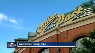 Milwaukee Brewers fans starting to believe in their first place crew - Video
