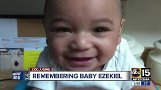 Mom of baby bent, killed by father speaks out - Video