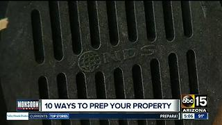 Best ways to prep your property for Monsoon storms - Video