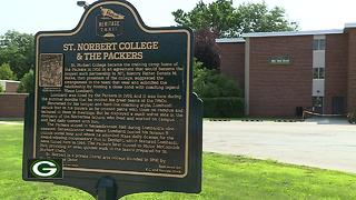 St. Norbert College prepares for Packers players to go 'back to school' - Video