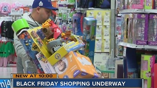 Black Friday shopping underway - Video