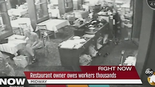 Former Midway area restaurant owner refused to pay employees - Video