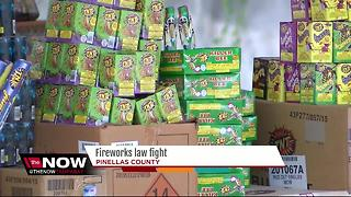 Pinellas Co. resident questions why fireworks law aren't enforced - Video