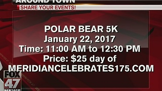 Around Town 1/17/17: Polar Bear 5K - Video
