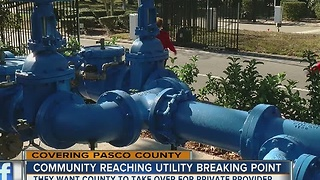 Summertree residents continue battle over high water rates - Video