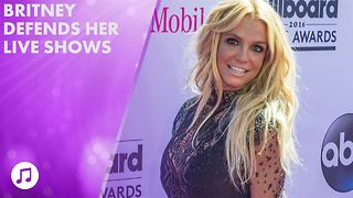 Britney Spears denies lip syncing (yeah, right) - Video