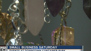 Small Business Saturday sees record turnout - Video