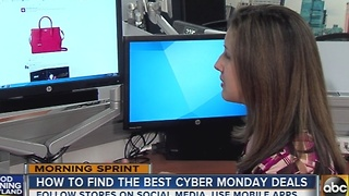 How to find the best Cyber Monday deals - Video