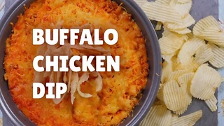 Buffalo chicken dip recipe will change your life! - Video