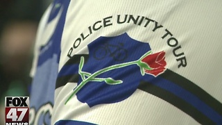 Police ride to honor fallen Wayne State officer