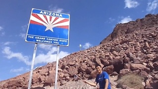 Waving the American Flag in all 50 States - in under 90 seconds