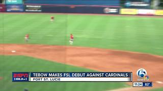 Tebow Debut - Video