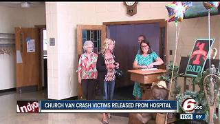 Many injured in Greenfield Church bus crash now home recovering