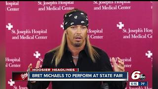 Bret Michaels added to Indiana State Fair lineup - Video