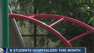 Another BPS student hospitalized after taking pill - Video