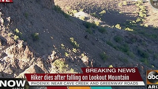 Hiker dies after falling on Lookout Mountain - Video