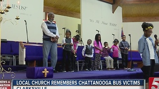Memorial, Fundraiser Held For Bus Crash Victims - Video