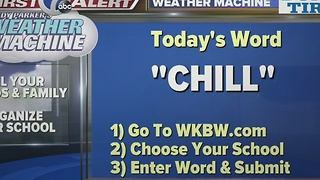Andy Parker's Weather Machine Word 01-13-17 - Video