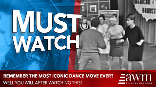 There Were Many Iconic Dance Moves From The 1960s, But This Easily Takes The Cake - Video