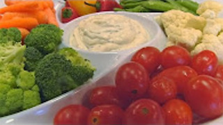 Betty's easy Italian dip with vegetables - Video