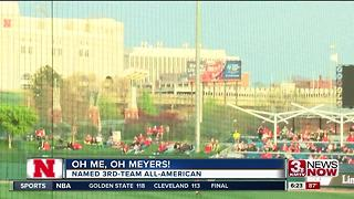 Jake Meyers Named 3rd-Team All-American - Video