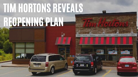 Tim Hortons Reveals Their Reopening Plan For Canada & It Includes Some Permanent Changes