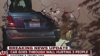 Elderly woman drives van through Burlington Coat Factory wall