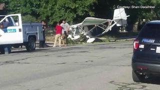 Tehachapi Man Still Shaken After Plane Hits Home - Video