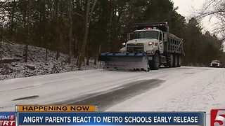 Metro Schools Defend Late Dismissal Call