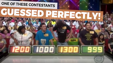 It Has Only Happened This One Time Ever On The Price Is Right [video]
