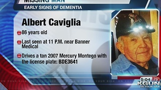 Tucson police looking for missing man with dementia