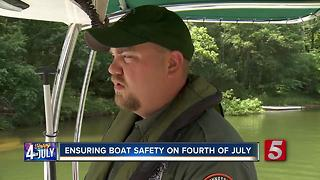 Beware Of Deer, TWRA Ensures Boat Safety - Video