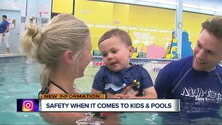 Keeping your kids safe around the water - Video