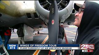 Wing of Freedom Tour is at Tulsa International Airport - Video