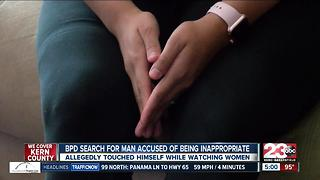 BPD searching for man accused of touching himself inappropriately - Video