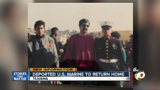 Deported U.S. Marine to return home - Video