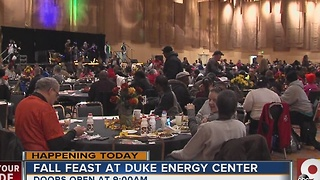 Fall Feast brings thousands to Duke Energy Center - Video