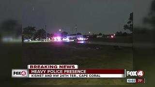 Cape Coral Police Investigates Shooting - Video