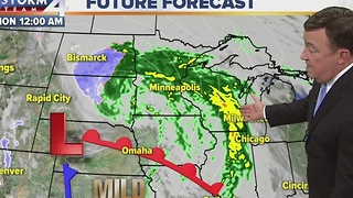 John Malan's Sunday Evening Storm Team 4Cast - Video