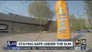 Staying safe under the scorching sun with smart sunscreen habits - Video