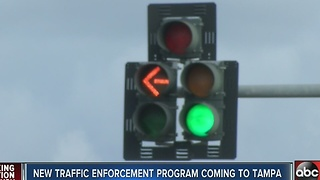 Program targets dangerous streets for Tampa pedestrians - Video