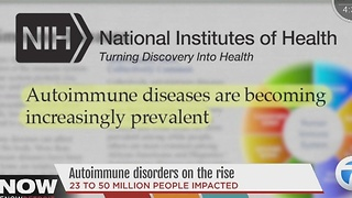 Autoimmune disorders on the rise - Video