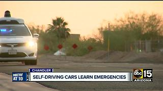 How safe are driver-less cars in emergency situations? - Video