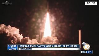 Carlsbad-based Viasat launches new satellite - Video