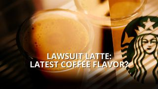 Lawsuit latte: The latest coffee fad? - Video