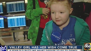 Valley girl has had her wish granted - Video