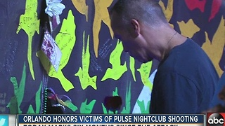 Orlando honors victims of Pulse nightclub shooting - Video